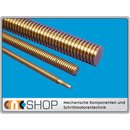Trapezoidal Screw Right Hand  TR12x3 - m ±2mm, high...