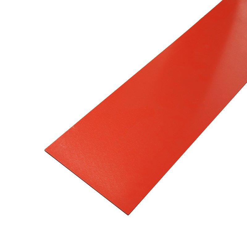 pvc platte hart rot st rke 10 mm breite 50 mm l nge w a. Black Bedroom Furniture Sets. Home Design Ideas