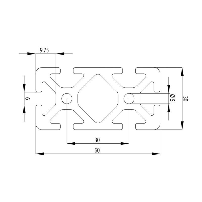 profil 6 30x60 i typ zuschnitt 100 mm 3 01. Black Bedroom Furniture Sets. Home Design Ideas