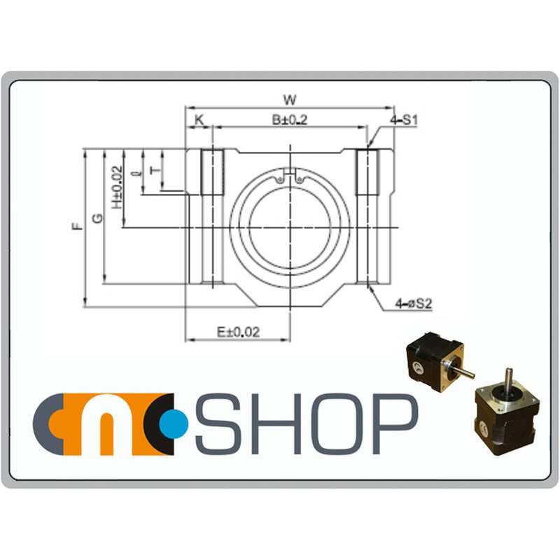 Linear Bearing With Housing Sma 25 Mm Shaft 11 90