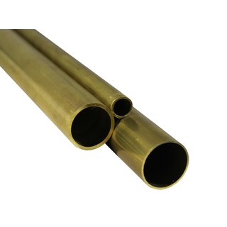 Brass round tubes  15,0 x 2,0 mm