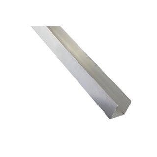 Aluminium U-Profil Schiene Walzblankes Alu Profil 40x80x40x3 mm 2000mm