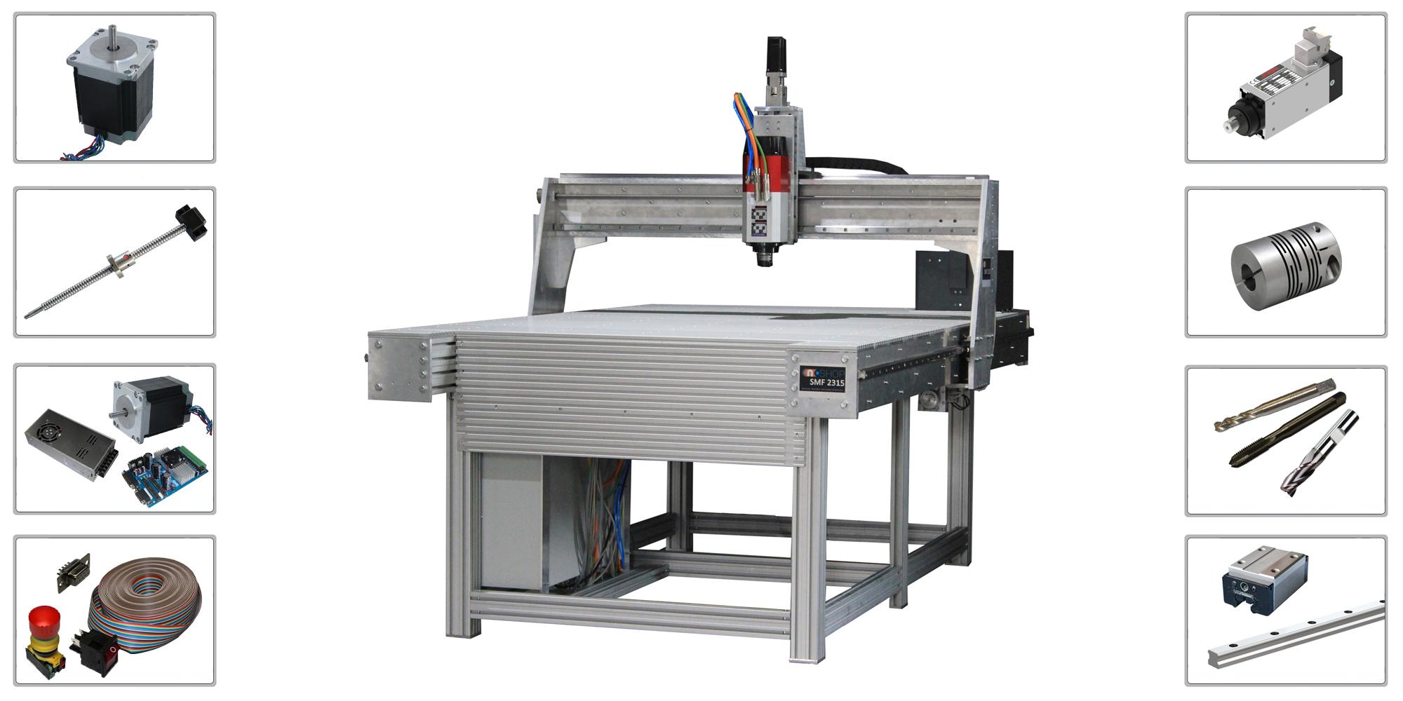 CNC Fräse Zubehör und Bauteile